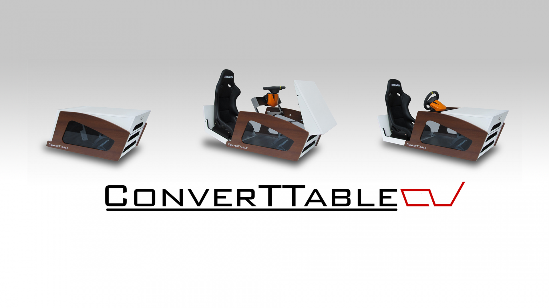 ConverTTable der Design Fahrsimulator